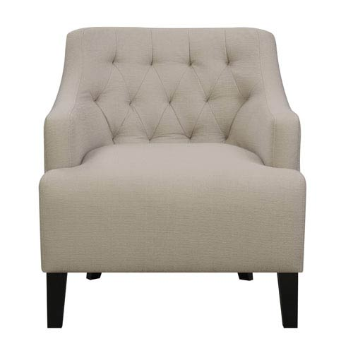 Emerald Home Furnishings Maxi Accent Chair-Ash