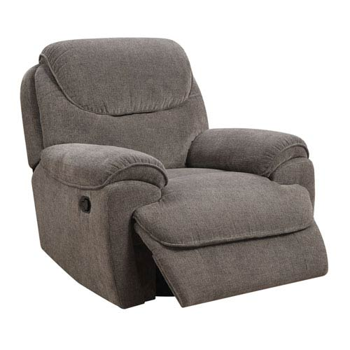 Coaster Furniture Berri Black Swivel Recliner With Flared
