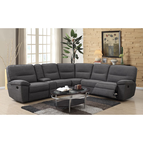 Emerald Home Alberta 6 Piece Sectional