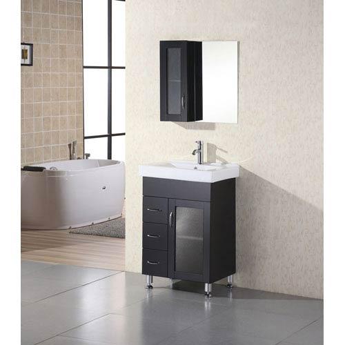 Charmant Design Element Oslo Dark Espresso 24 Inch Single Sink Vanity Set