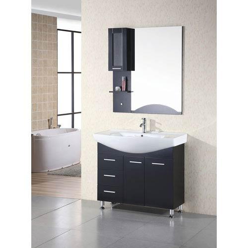 Design Element Sierra 40 Inch Single Sink Vanity Set