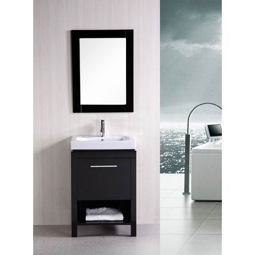 Design Element New York Dark Espresso 24 Inch Contemporary Bathroom Vanity 2078dec091a 1 2 3