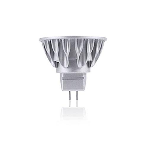 Silver LED MR16 GU5.3 Soft White 630 Lumens Light Bulb