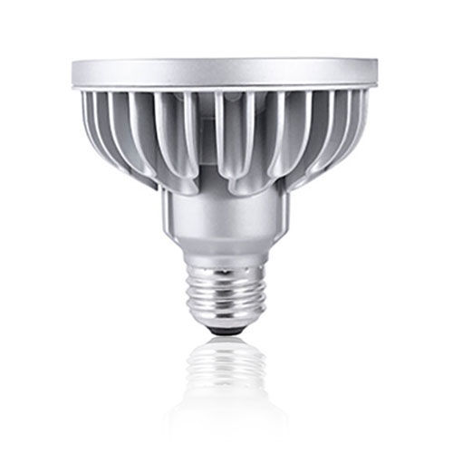 Silver LED PAR30S Standard Base Warm White 1190 Lumens Light Bulb