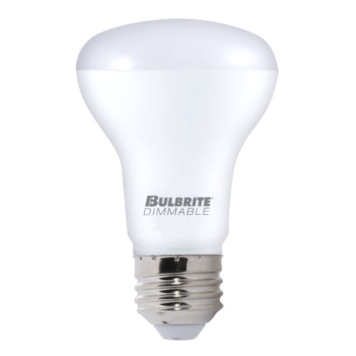 Frost R20, E26 3000K 8W LED Bulb, Pack of Four
