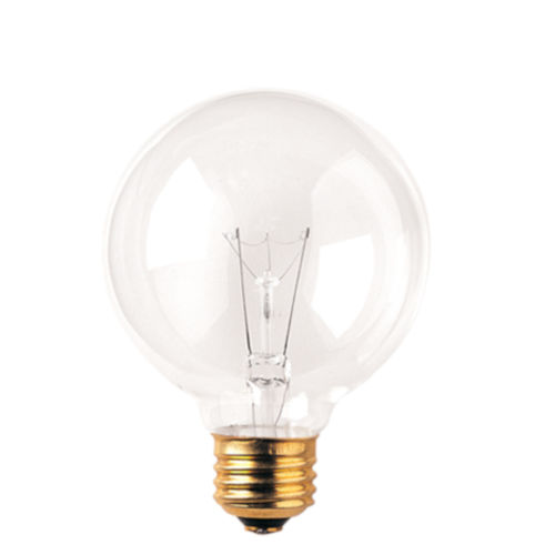 Clear G25, E26 2700K 40W Incandescent Bulb, Pack of 24