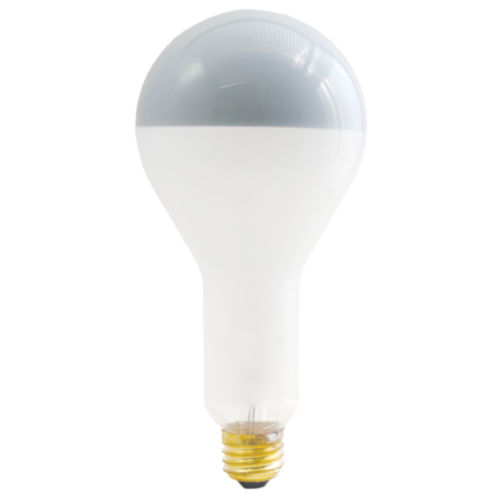 Frost Silver Bowl Incandescent PS30 Standard Base Warm White 2100 Lumens Light Bulb