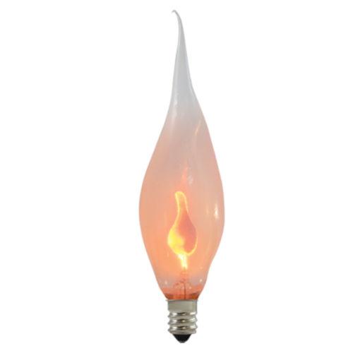 Silicone Incandescent CA5 Candelabra Base Warm White Lumens Light Bulb