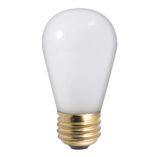 Frost Incandescent S14 Standard Base Warm White 70 Lumens Light Bulb