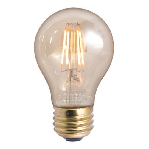 Antique A19, E26 2200K 4W LED Bulb, Pack of Three