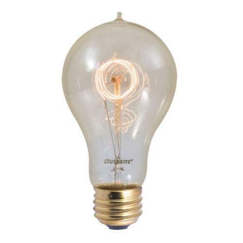 Antique Nostalgic Incandescent A21 Standard Base Amber 110 Lumens Light Bulb