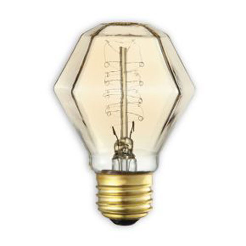 Bulbrite 40W E26 Incandescent Antique Spiral Bulb