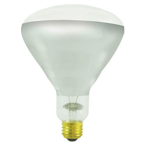 250W BR40 E26 130V Bulb with Tough Coat