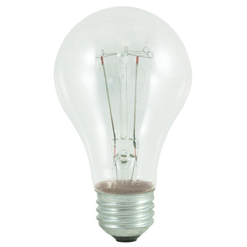 Bulbrite 25W A19 E26 Bulb, Pack of 2