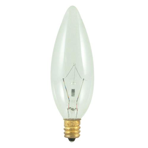 Bulbrite 25W B10 E12 Torpedo Bulb