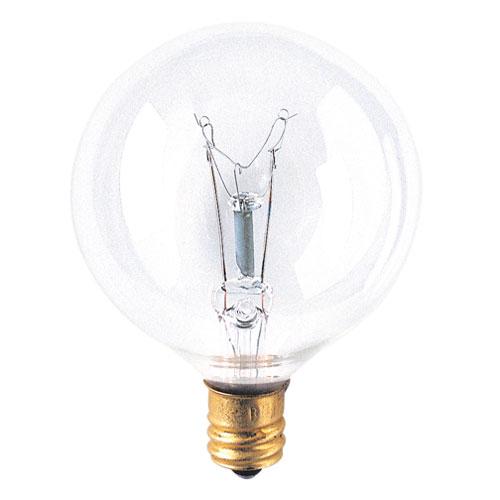 Bulbrite 40W G16.5 E12 Bulb