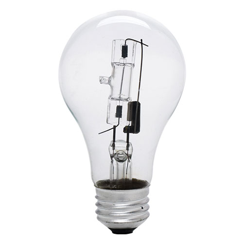 43W A19 E26 Halogen Bulb, Pack of 2