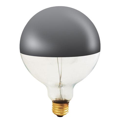 60W G40 E26 Half Chrome Bulb