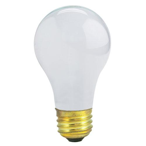 Bulbrite 29/43/72W A19 E26 Halogen Frost Bulb