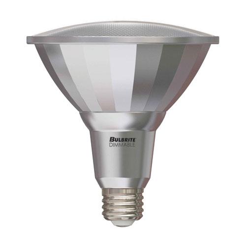 18W PAR38 E26 LED Silver Bulb, 2700K