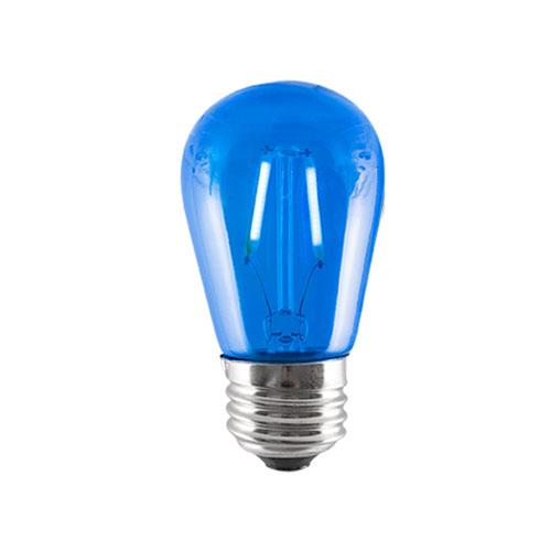 2W S14 E26 LED BLUE Bulb