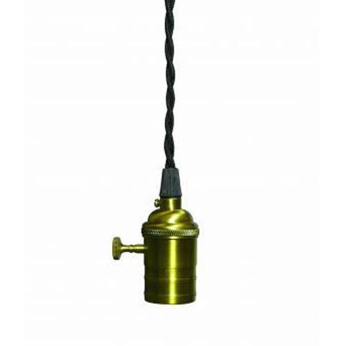 Bulbrite Bronze Copper Nostalgic Hardwire Swag Mini Pendant