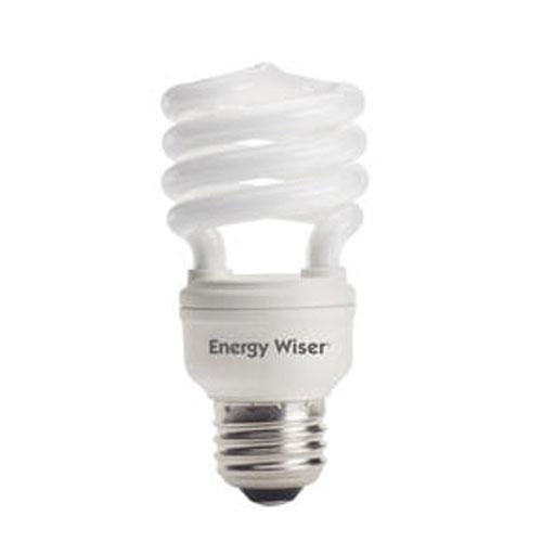 bulbrite 13w t2 coil e26 cfl soft daylight bulb 509114 bellacor