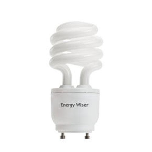 Bulbrite 18W T3 Coil GU24 CFL White Bulb
