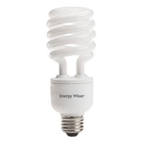 bulbrite 23w t3 coil e26 cfl white bulb 514023 bellacor