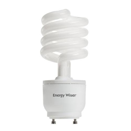 23W T3 Coil GU24 CFL White Bulb