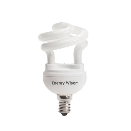 bulbrite 5w t2 coil e12 cfl white bulb 509005 bellacor