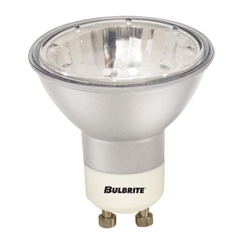 Bulbrite 50W MR16 GU10 Halogen Silver Flood Bulb