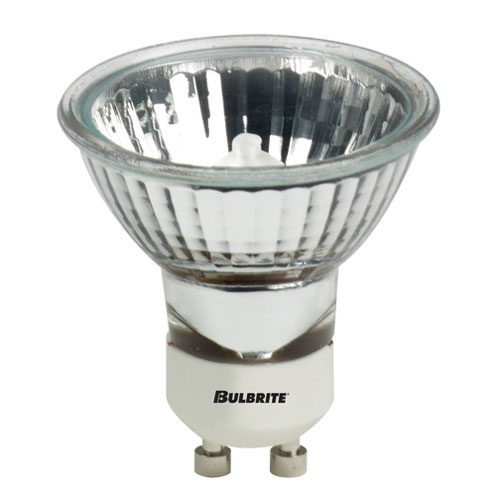 Bulbrite 50W MR16 GU10 Halogen Flood Bulb