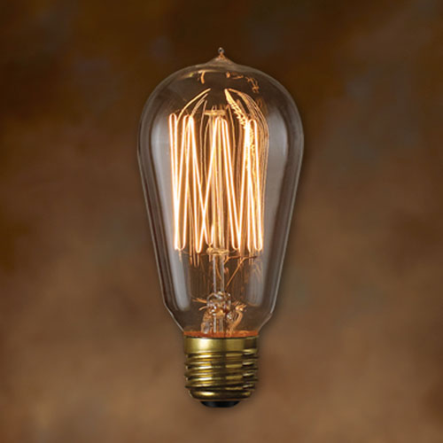 Nostalgic Antique 5-Inch Incandescent Lamp