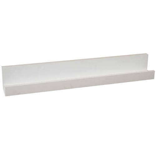 White Picture Ledge, 3.5 x 24 x 3.5-Inches