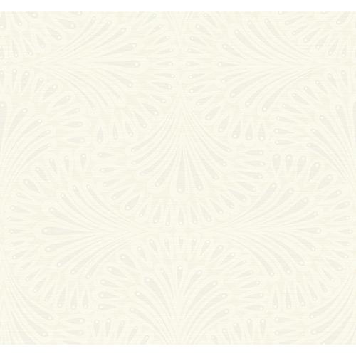 Antonina Vella Deco Off White Cabaret Wallpaper