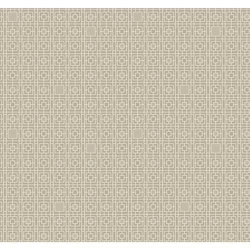 Antonina Vella Deco Beige Deco Screen Wallpaper