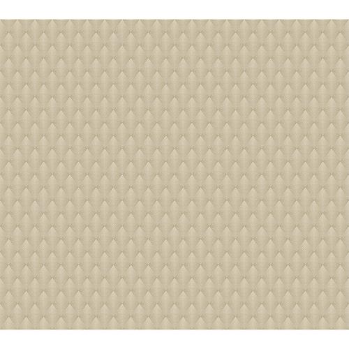 Antonina Vella Deco Beige Club Diamond Wallpaper