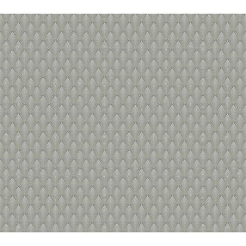 Antonina Vella Deco Black Club Diamond Wallpaper
