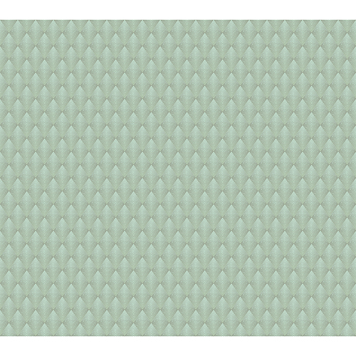 Antonina Vella Deco Green Club Diamond Wallpaper