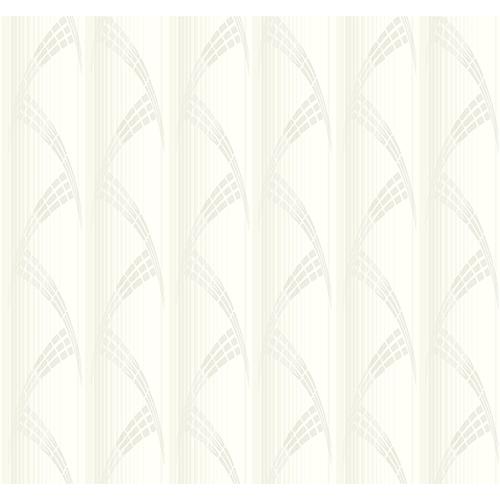 Antonina Vella Deco Off White Metropolis Wallpaper
