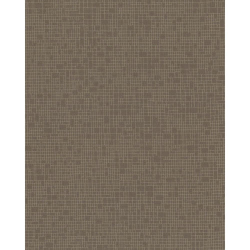 Color Digest Brown Wires Crossed Wallpaper - SAMPLE SWATCH ONLY