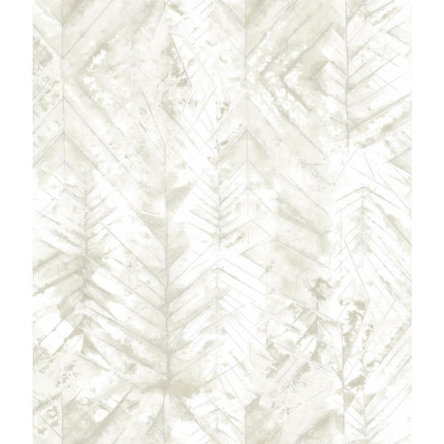Impressionist White and Tan Textural Impremere Wallpaper