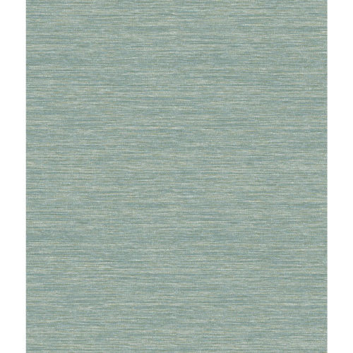 Impressionist Teal Challis Woven Wallpaper - SAMPLE SWATCH ONLY
