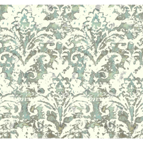 Batik Damask Wallpaper