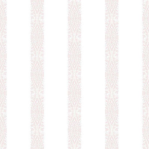 A Perfect World Pink Ballerina Stripe Wallpaper - SAMPLE SWATCH ONLY