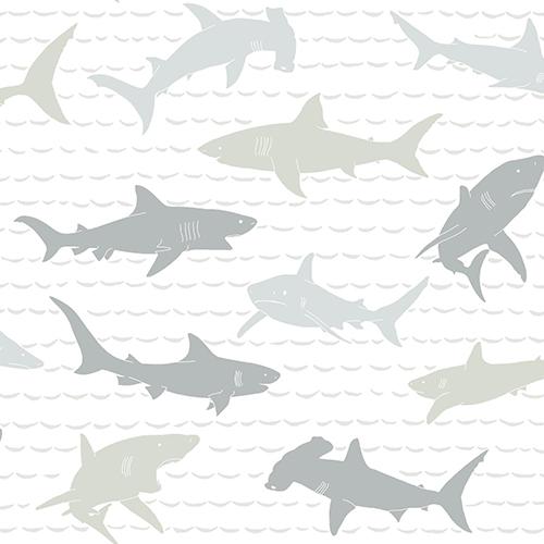A Perfect World Neutral Shark Charades Wallpaper