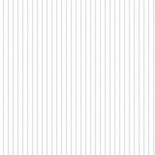 A Perfect World Grey Ticking Stripe Wallpaper