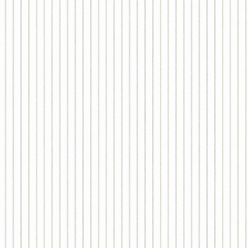 A Perfect World Neutral Ticking Stripe Wallpaper
