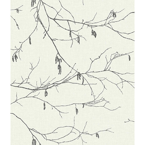 Norlander Off White Winter Branches Wallpaper